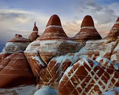 One-of-a-kind rock formations.