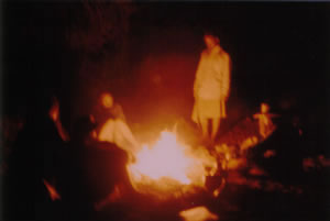 Stories around the campfire