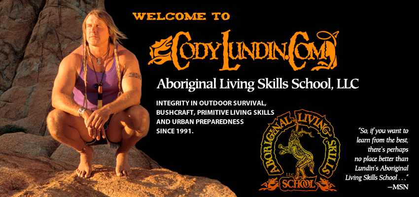 CODY LUNDIN and ALSS: outdoor survival, bushcraft, primitive